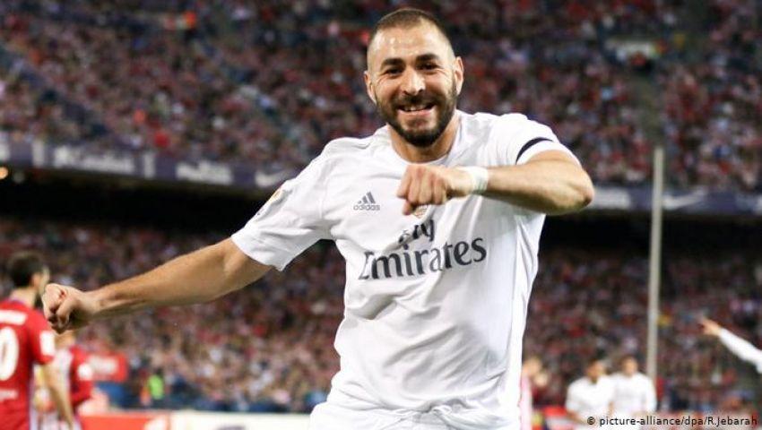جماهير ريال مدريد تختار بنزيما كأفضل لاعب في سبتمبر