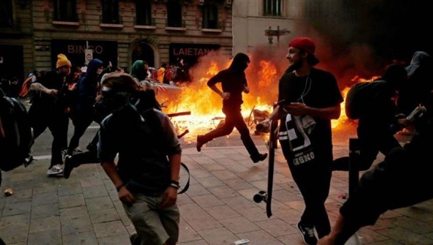 إسبانيا.. مداهمات أمنية في برشلونة بعد احتجاجات الانفصاليين