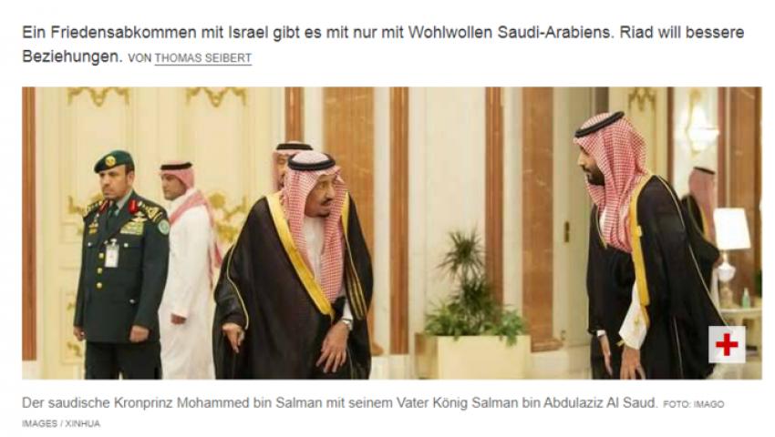 صحيفة ألمانية: الملك سلمان منع وريث العرش من تطبيع علني