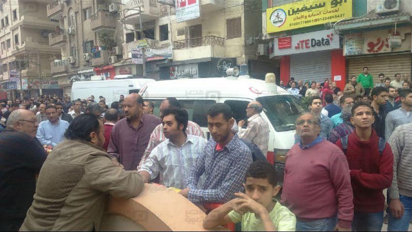 وصول ١٠ حالات من مصابي الغربية لمعهد ناصر والمنيرة