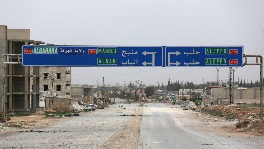 فيديو وصور| القوات التركية والنظام السوري يتسابقان على «منبج»