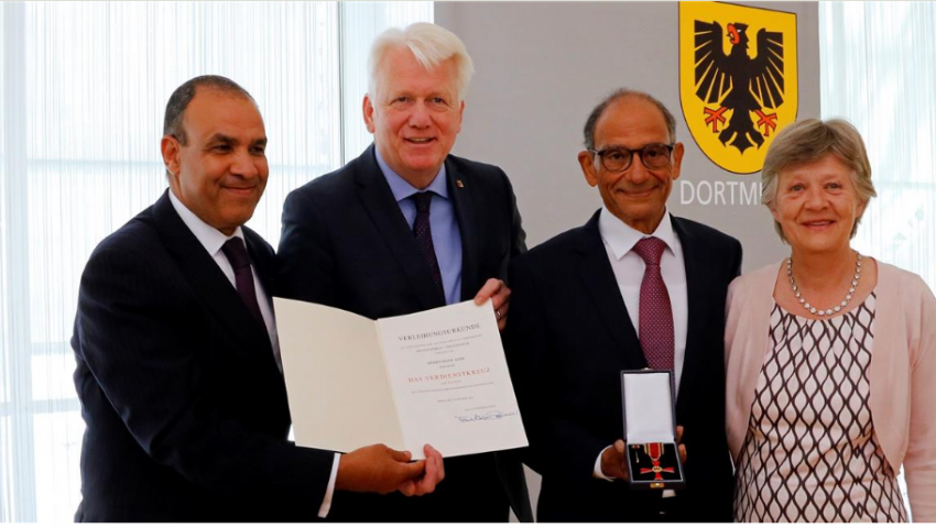 أسباب تكريم ألمانيا للمهندس المصري هاني عازر