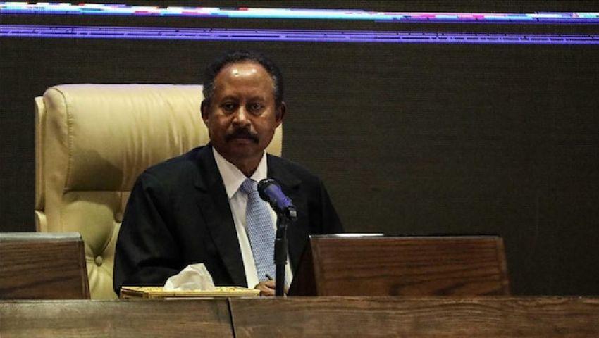 فيديو  حمدوك يعلن أسماء وزراء الحكومة الانتقالية في السودان