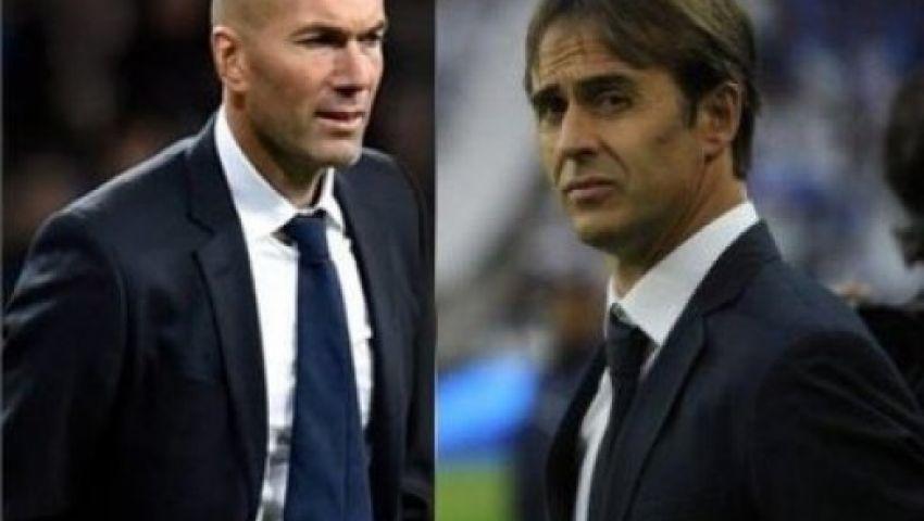 فيديو| قمة ريال مدريد وإشبيلية.. من ينتصر زيدان أم لوبيتيجي؟