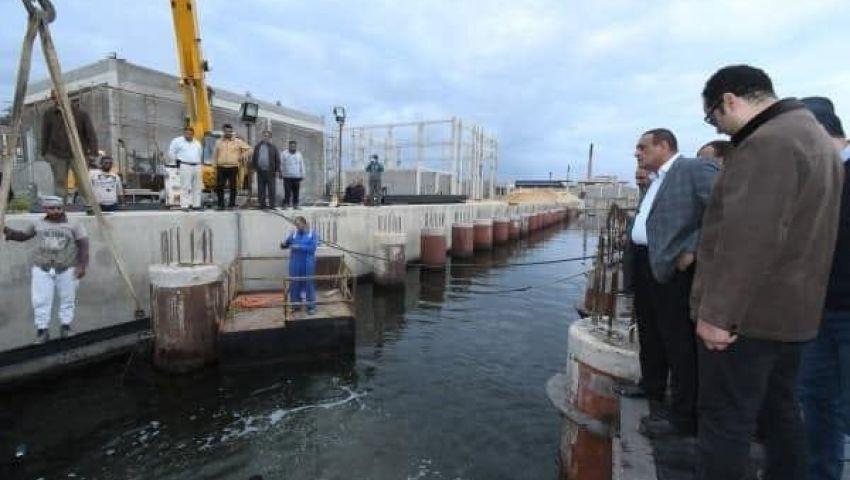 يستوعب 300 مركب.. مدبولي يتفقد ميناء رشيد الجديد بالبحيرة