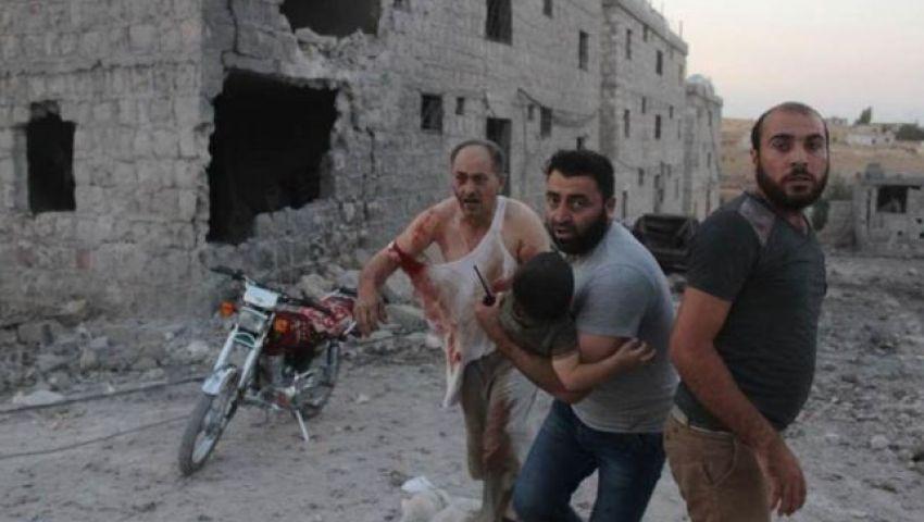 «رايتس ووتش»: الهجوم «السوري - الروسي» على مجمع للنازحين في إدلب جريمة حرب