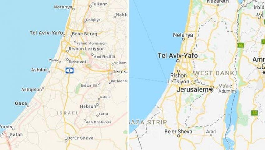 حذف فلسطين من خرائط جوجل وأبل الإندبندنت تكشف رواية جديدة مصر