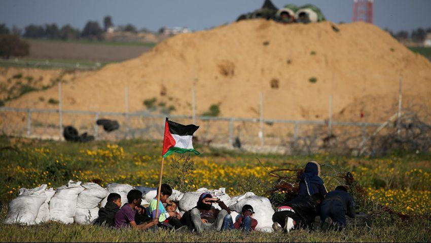 مع مساعي تثبيت التهدئة.. غزة تستعد لـ«مليونية الأرض» وإسرائيل تحشد قواتها