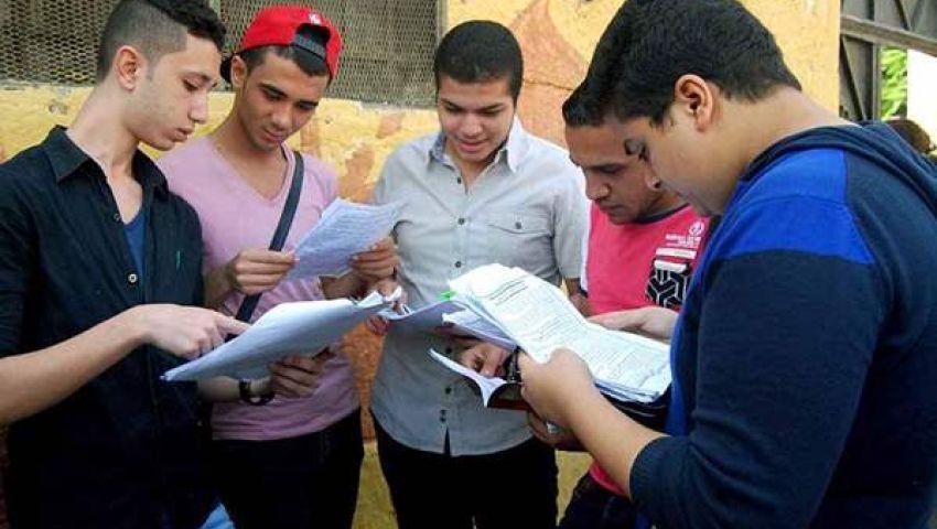 اليوم.. طلاب الثانوية العامة يؤدون امتحانات الجيولوجيا والتفاضل وعلم النفس