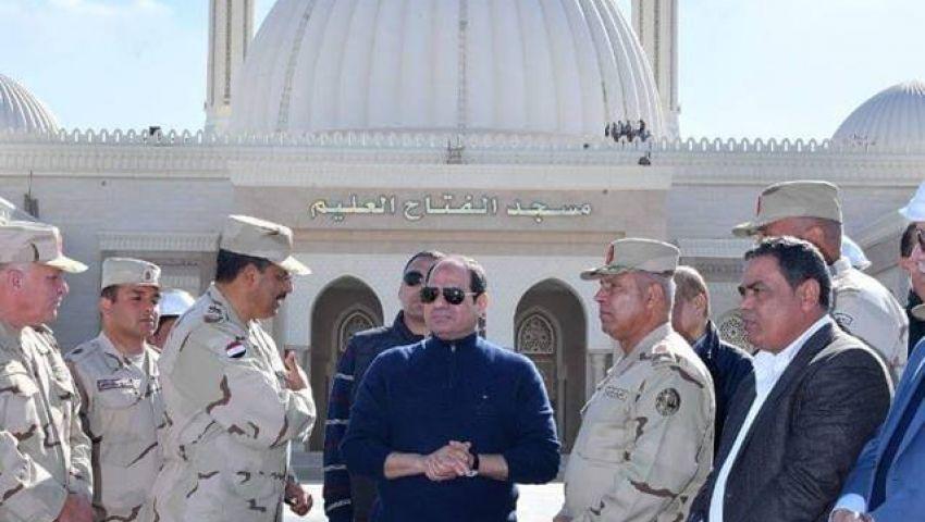 فيديو وصور| بـ«كاتدرائية ومسجد» العاصمة الإدارية.. هكذا تستقبل مصر «ميلاد المسيح»