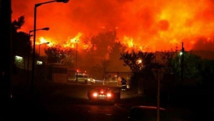 دمرت عشرات المنازل.. حرائق في اسرائيل والضفة المحتلة