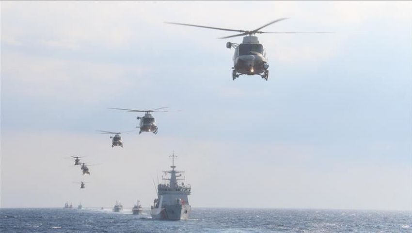 حشود ومناورات وتدخل أمريكي.. آخر مستجدات الصراع شرق المتوسط