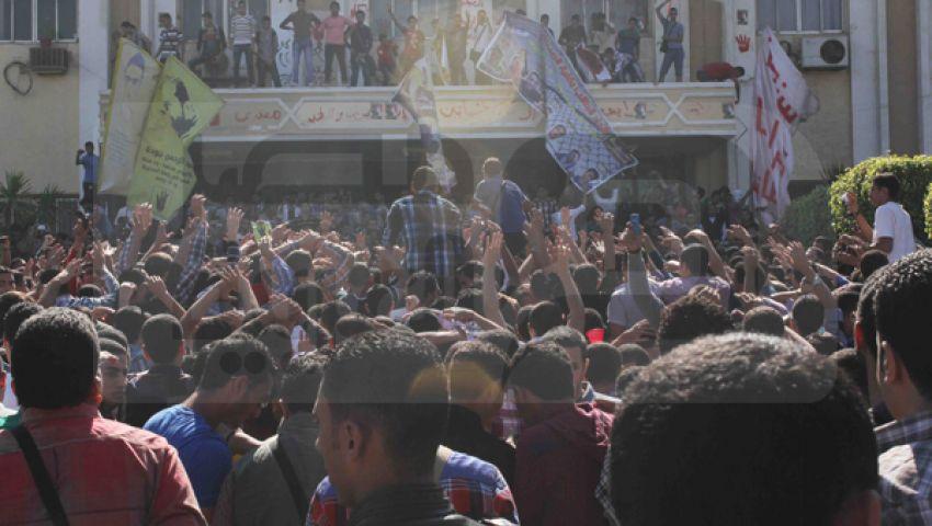 الداخلية: 1000 طالب حاولوا اقتحام جامعة الأزهر اليوم