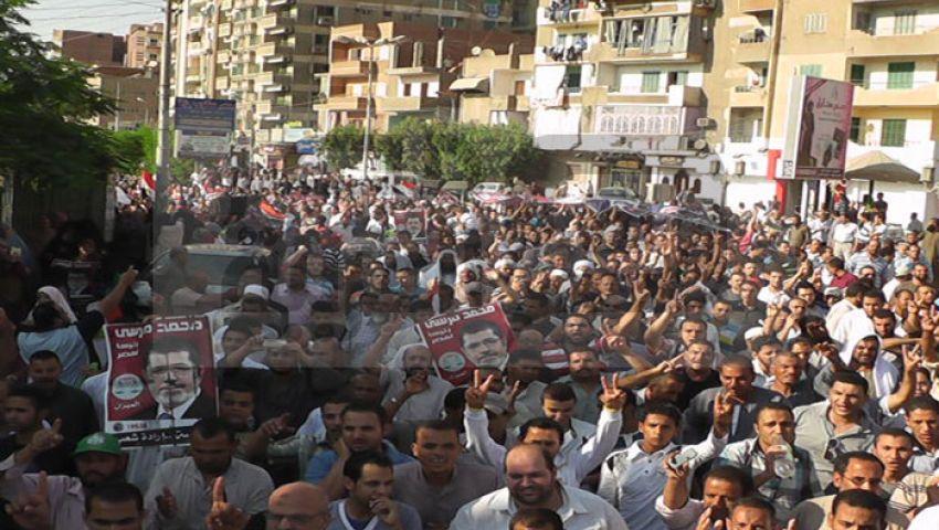 الإخوان تعلق مسيرات تأييد مرسي بالمنوفية