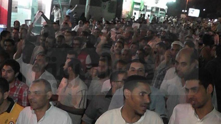 مسيرات حاشدة بالفيوم لدعم الرئيس مرسي