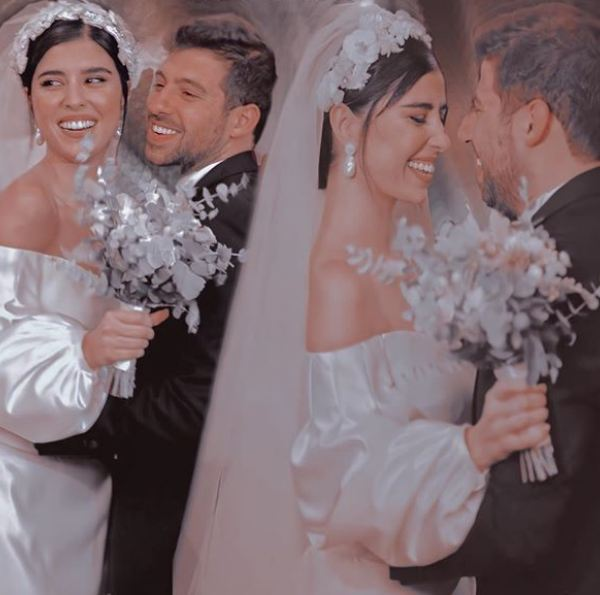 Zeina Makki Surprises The Audience With White Pictures Of The Wedding